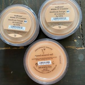 bareMinerals 2 SPF 15 Foundation & 1 tinted Veil